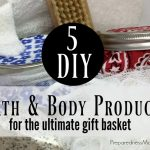 5 Non-Toxic DIY Bath & Body Products + a giveaway