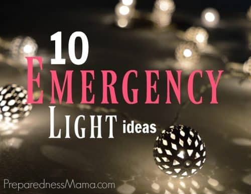 10 Emergency Light ideas for home, yard, and car | PreparednessMama
