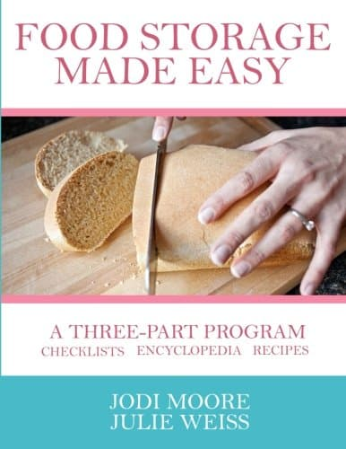 Food Storage Made Easy, a new paperback volume by Jodi Moore & Julie Weiss | PreparednessMama