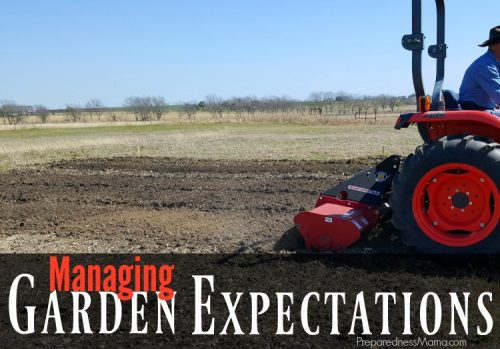 Managing garden expectations - THe Suburban Micro-farm by Amy Stross | PreparendessMama