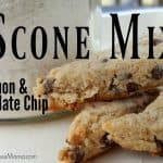 Lemon Chocolate Chip Scone Mix in a Jar