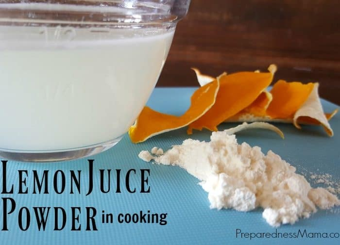 How to Use Lemon Juice Powder in Cooking