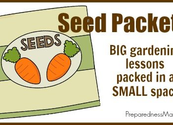 Seed Packets: Big Gardening Lessons Packed in a Small Space