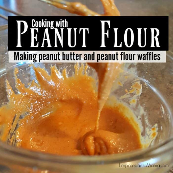 Cooking with Peanut Flour