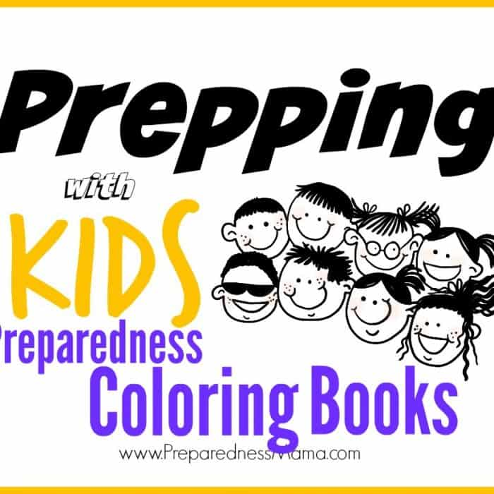 Prepping With Kids: Preparedness Coloring Books!
