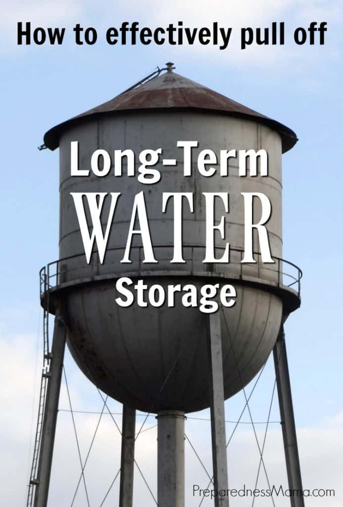Are you prepared to effectively pull off long term water storage? Because the greatest and most immediate need in the event of an emergency will be water | PreparednessMama