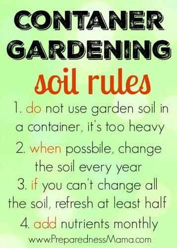 Small garden space - no problem! Container gardening tricks to have a productive garden and grow vegetables, fruits, and flowers in containers | PreparednessMama
