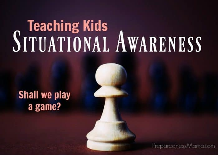 Teaching Situational Awareness to Kids
