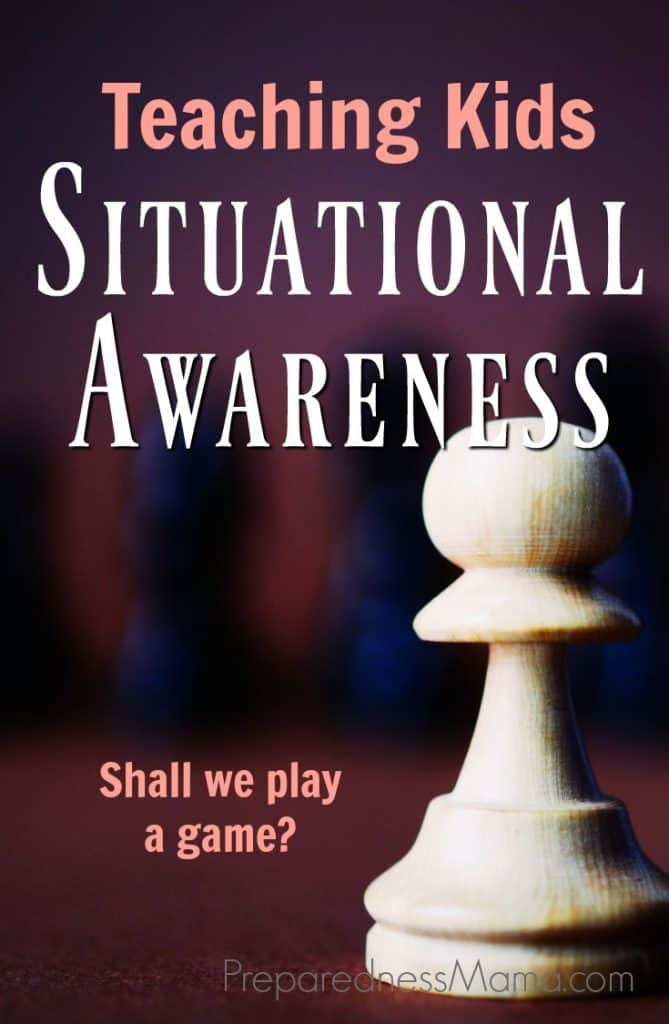 We can be blissfully unaware of our surroundings and distracted much more than we realize. Teaching situational awareness to kids can be lifesaving | PreparednessMama