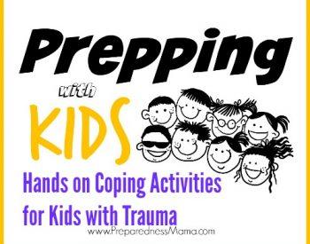 Hands on Coping Activities for Kids