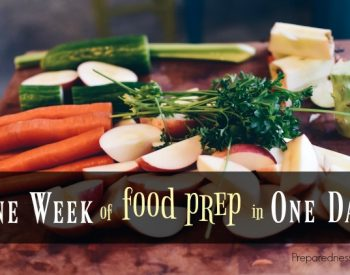 One Week of Food Prep in One Day