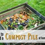 How to Make a Compost Pile at Home