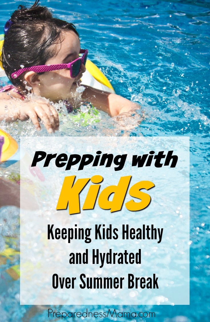Keeping Kids Healthy And Hydrated Over Summer Break