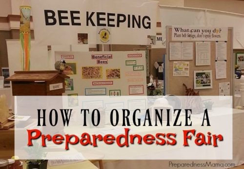 Will you organize a preparedness fair this year? Aim for hands on, enjoyable activities instead of giving a bunch of information download. You'll find tons of ideas in this post | PreparednessMama