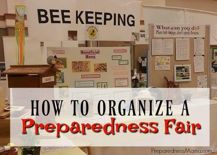How to Organize a Preparedness Fair