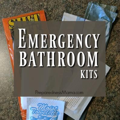 Emergency Bathroom Kits