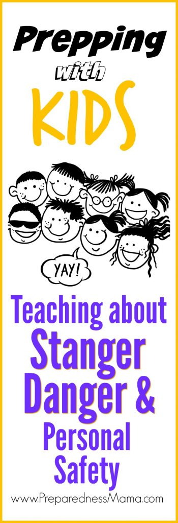 Unfortunately, in today's world, we need to teach personal safety for kids. Get resources for teaching young kids about strangers and potentially dangerous people and situations | PreparednessMama