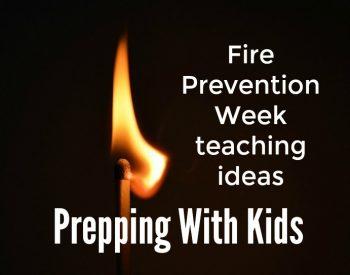 Teaching Fire Prevention Week