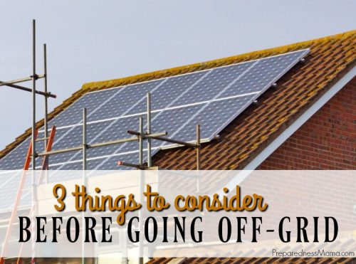 Generating your own power is a lifestyle change. Create an off-grid system so if something devastating happens, natural or otherwise, you still have power | PreparednessMama