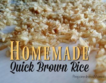 Homemade Quick Brown Rice