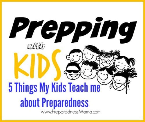 There is a lot to learn about preparedness from a kid's perspective. Let your kids teach about preparedness, you'll be surprised how much they understand. | PreparednessMama