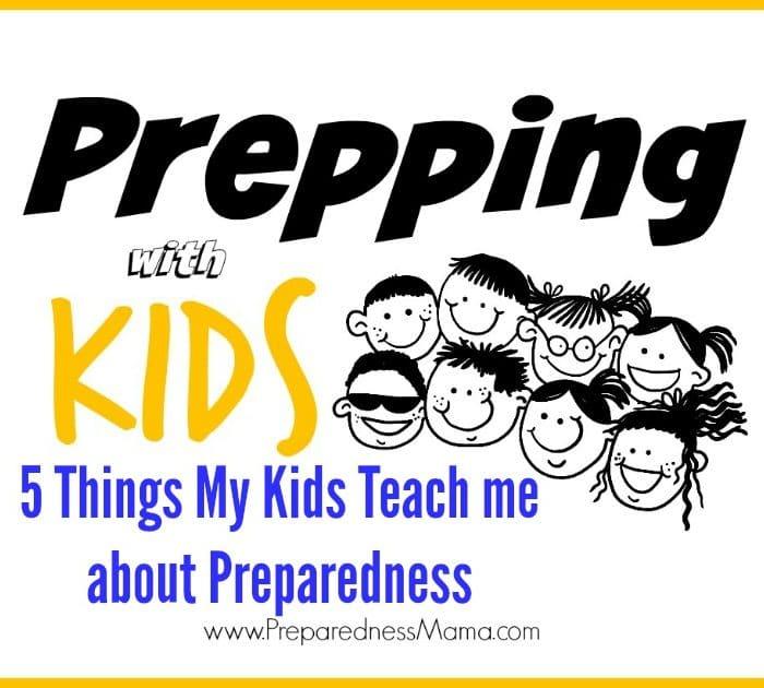What Kids Teach About Preparedness