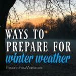 7 Things To Do to Prepare for Winter Weather