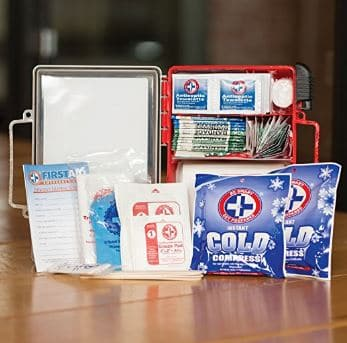 Be Smart Get Prepared 250 Piece First Aid Kit outdoor survival gear