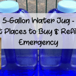 5-Gallon Water Jug – Best Places to Buy & Refill for Emergency