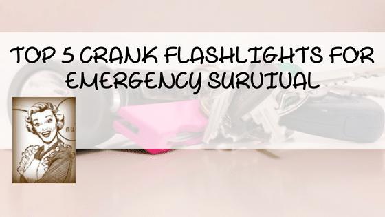 Top 7 Crank Flashlights For Emergency Survival