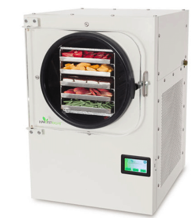 freeze dryer for sale harvest right satin white color