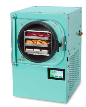 freeze dryer for sale harvest right aqua blue color