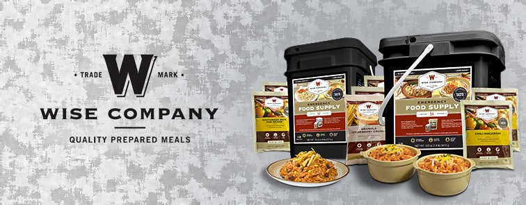 product photo of freeze dried food pack by the Wise Company
