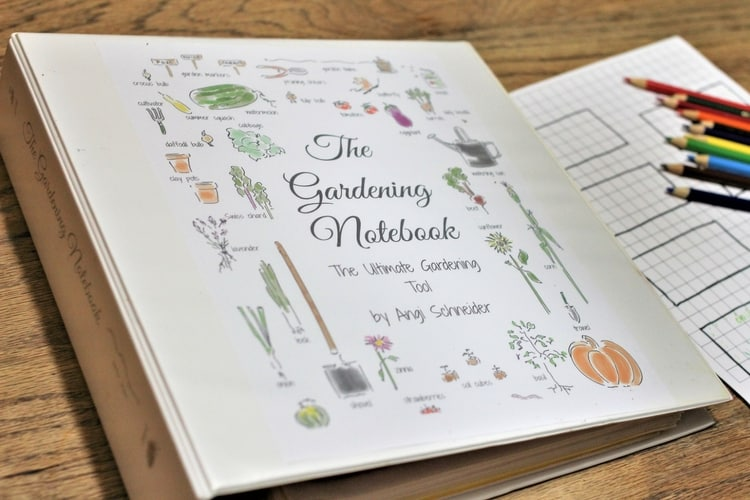 The Gardening Notebook is the ultimate gardening tool. | PreparednessMama