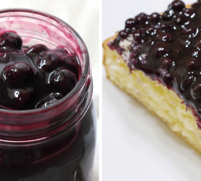 Canning Homemade Blueberry Filling + Recipe