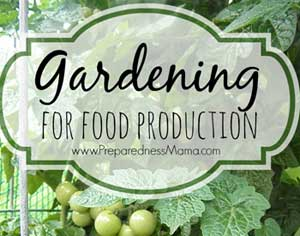 The Gardening page at PreparednessMama.com